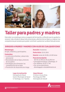TALLERES MADRES PADRES 2  - CARTEL