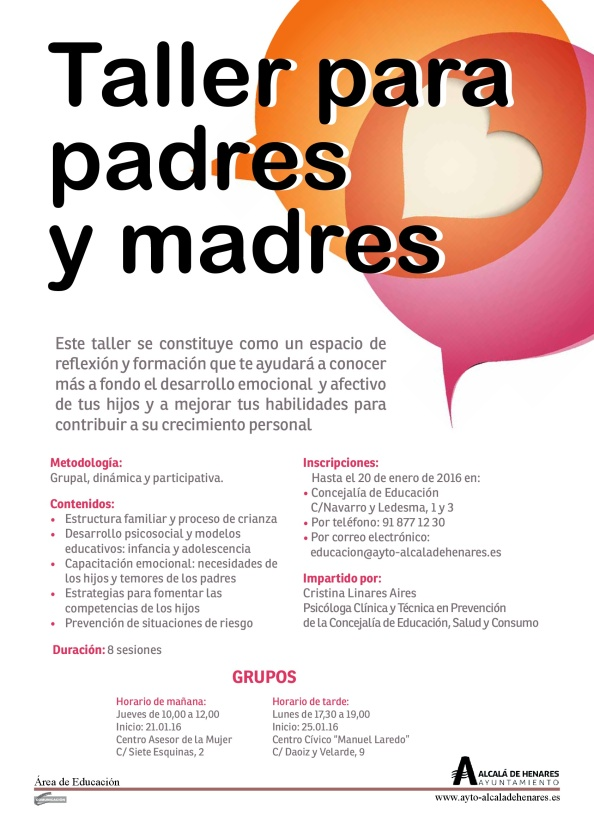 Taller para Padres y Madres