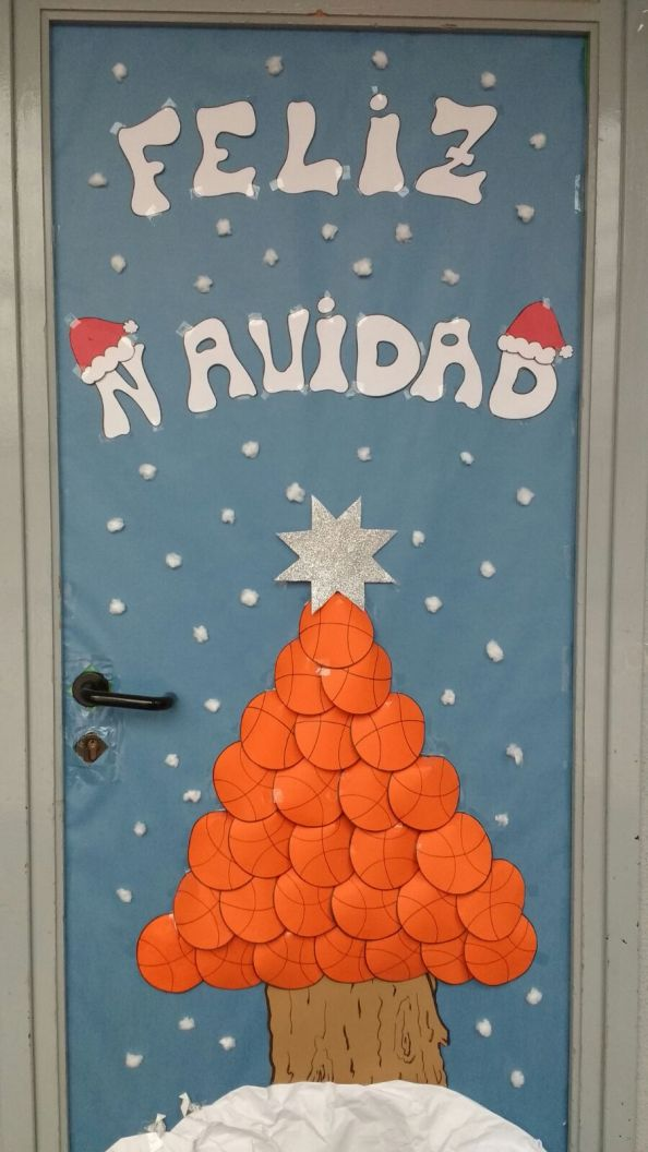 Nuestro cole, el mejor decorado por Navidad del DistritoI